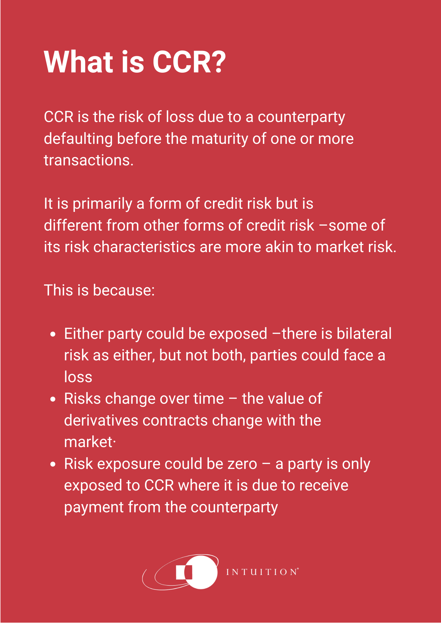 what is ccr?