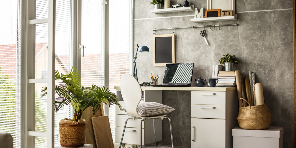 Design your workspace with care, a bright well-lit location, comfortable chair, screen at eye level and don't sit for extended periods!
