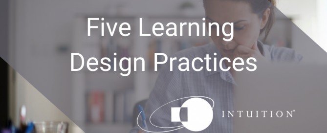 Five Learning Design Practices