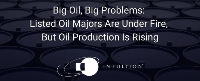 Big Oil, Big Problems Listed Oil Majors Are Under Fire, But Oil Production Is Rising
